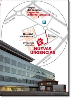 Mapa Pabellones Hospital De Navarra.Noticias Nuevo Edificio De Urgencias Del Complejo Hospitalario De Navarra Navarra Es