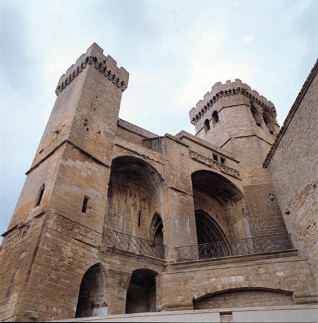 Iglesia-fortaleza de Ujué