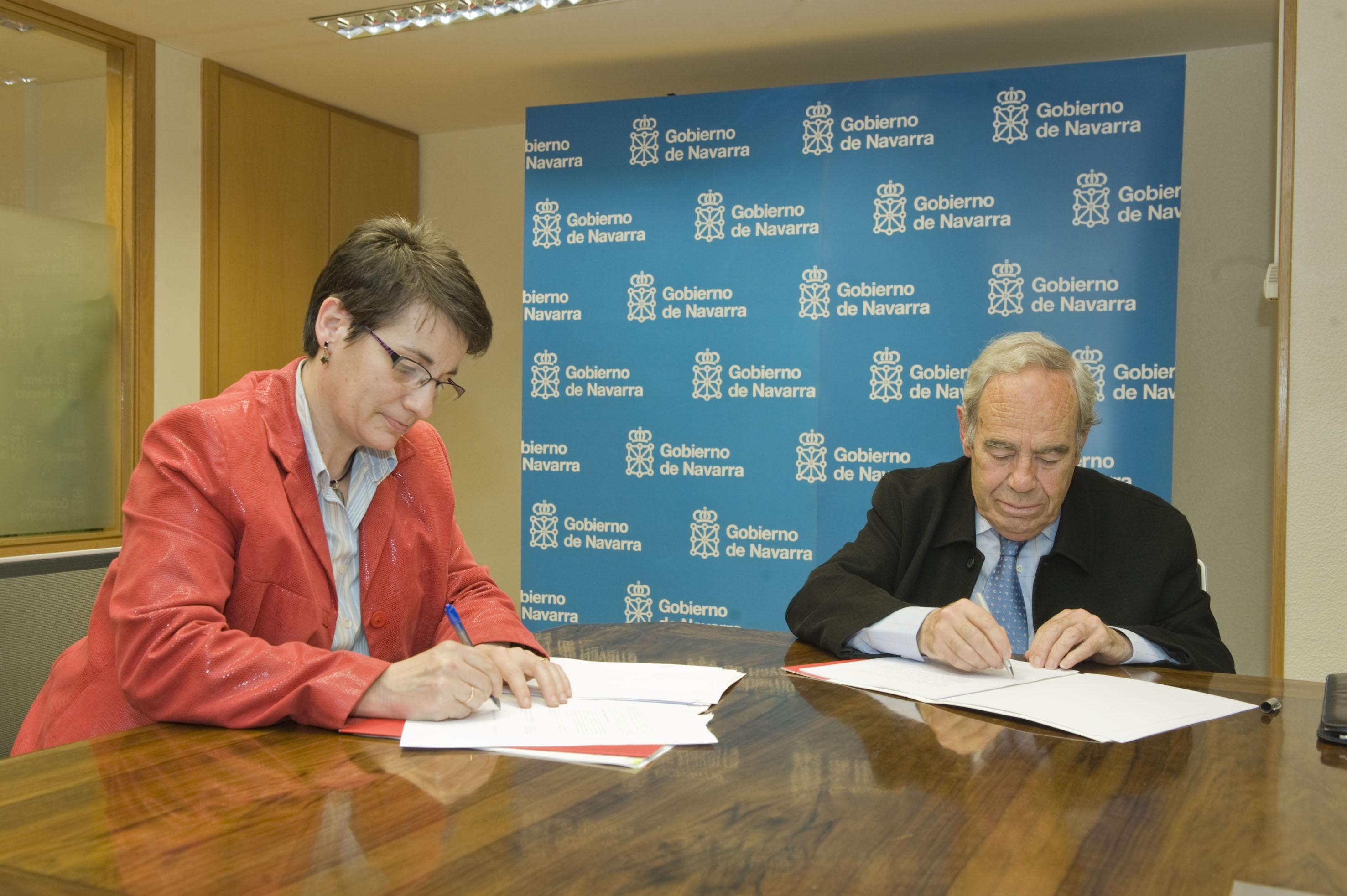 Firmado un convenio con el banco de alimentos de navarra para distribuir comida a personas - Banco de alimentos de navarra ...