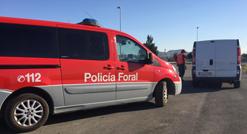 Denunciado en Cortes un repartidor por exceso de velocidad y positivo en drogas