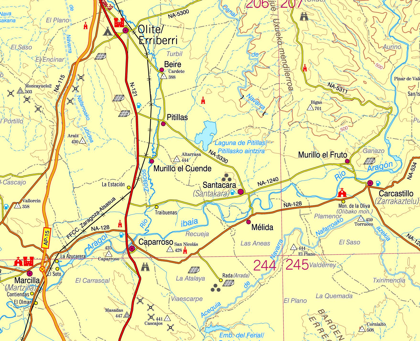 Actualizados Los Mapas Topogr Ficos De Navarra A Peque A