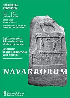 """""""Navarrorum. Dos mil años de documentos navarros sobre el Euskera"""""""