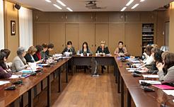 Primera reunión en esta legislatura del Consejo Navarro de Igualdad