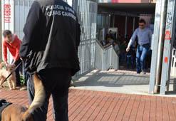 La Policía Foral detiene a dos personas, uno de ellos menor de edad, por presuntos delitos de tráfico de drogas