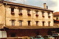 Edificio de la Harinera San Miguel, en Etxarri Aranatz.