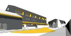 Adjudicada la construcción del nuevo colegio de Roncal por 3,2 millones