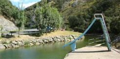 La piscina fluvial del río Araxes, en Betelu, nueva zona de aguas de baño natural