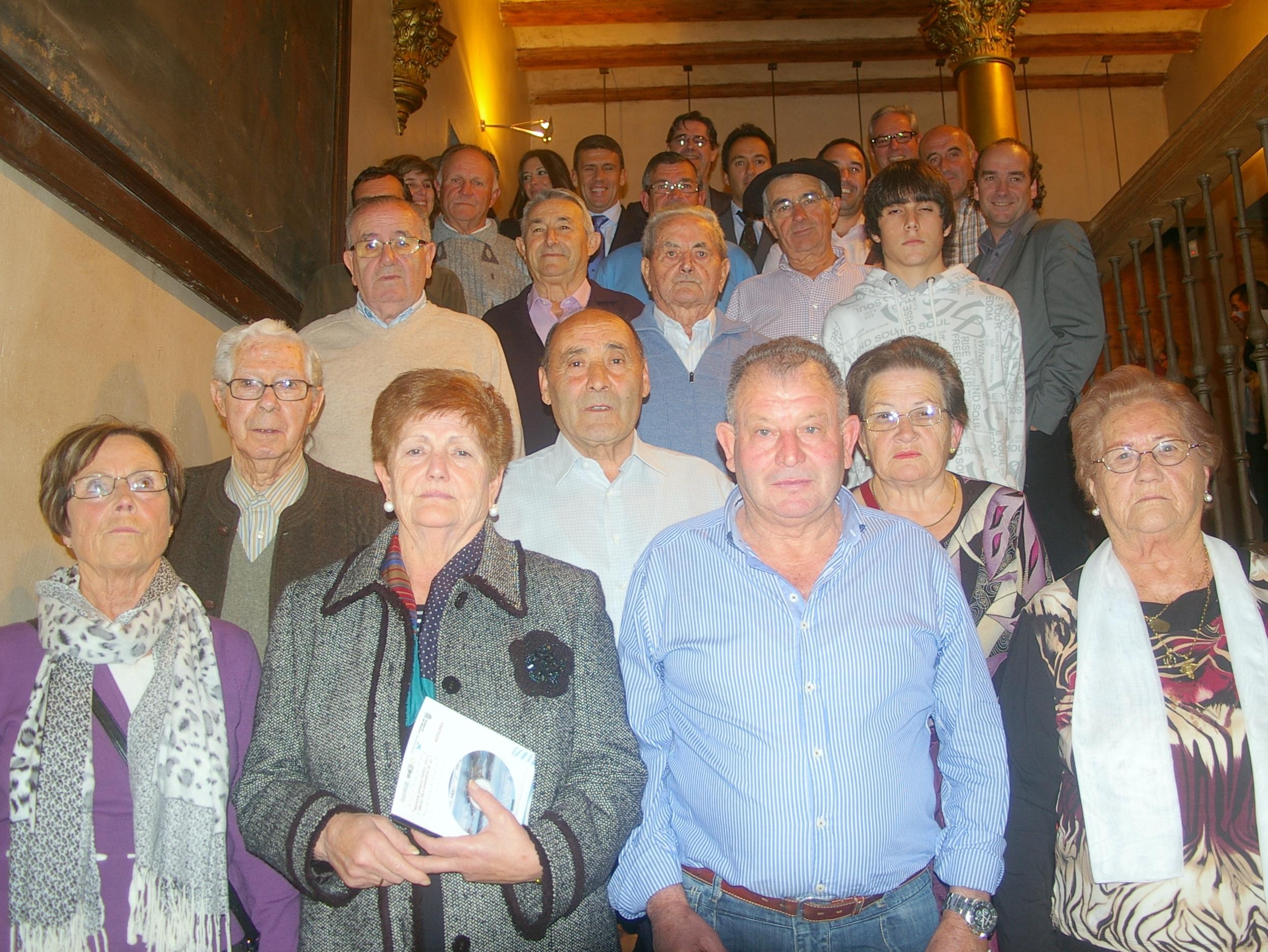 """Participantes en el documental """"Yo el Ebro"""" de localidades de la Ribera de Navarra"""
