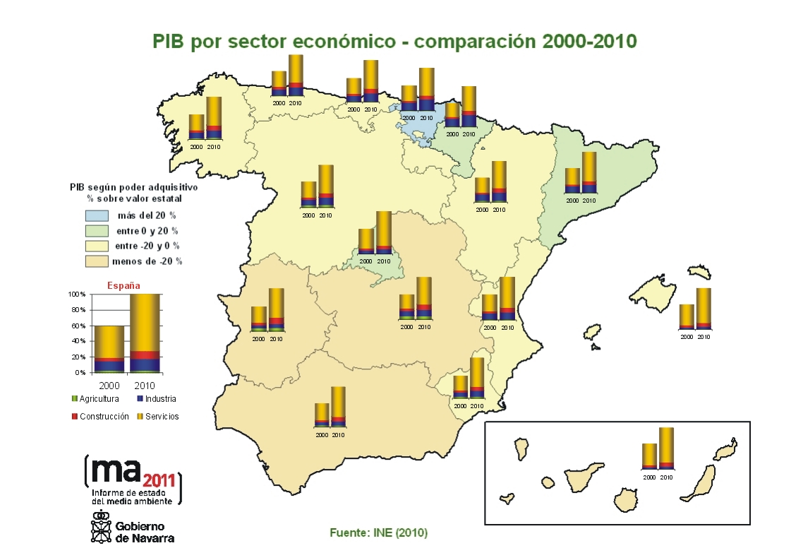 Mapa Economico De España.Volver Informacion Definicion Metadatos Y Glosario Descarga