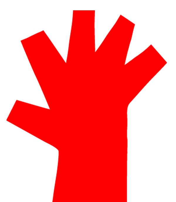 Resultado de imagen de mano roja