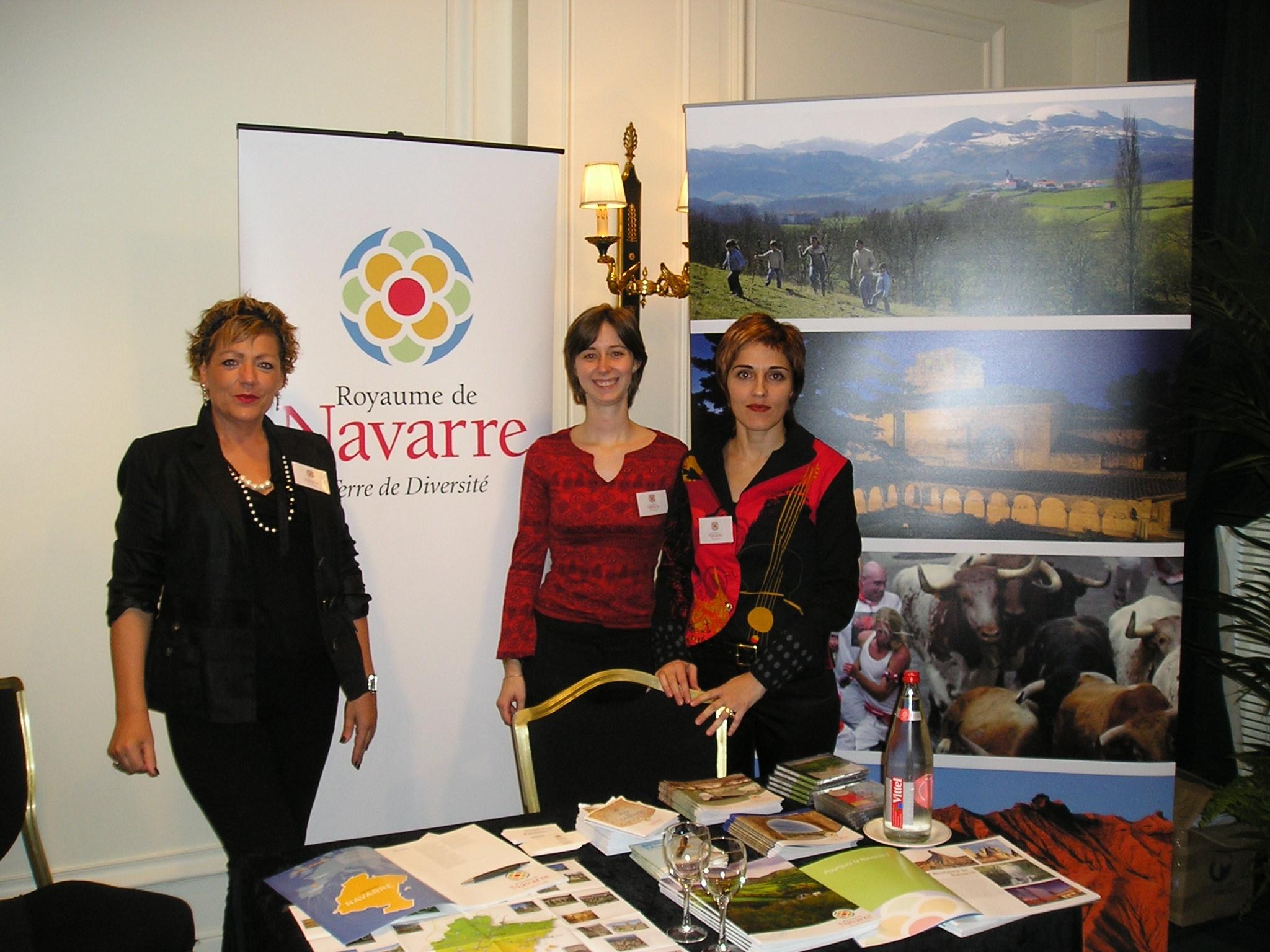 El gobierno de navarra promociona el turismo de la for Oficina de turismo de la comunidad de madrid