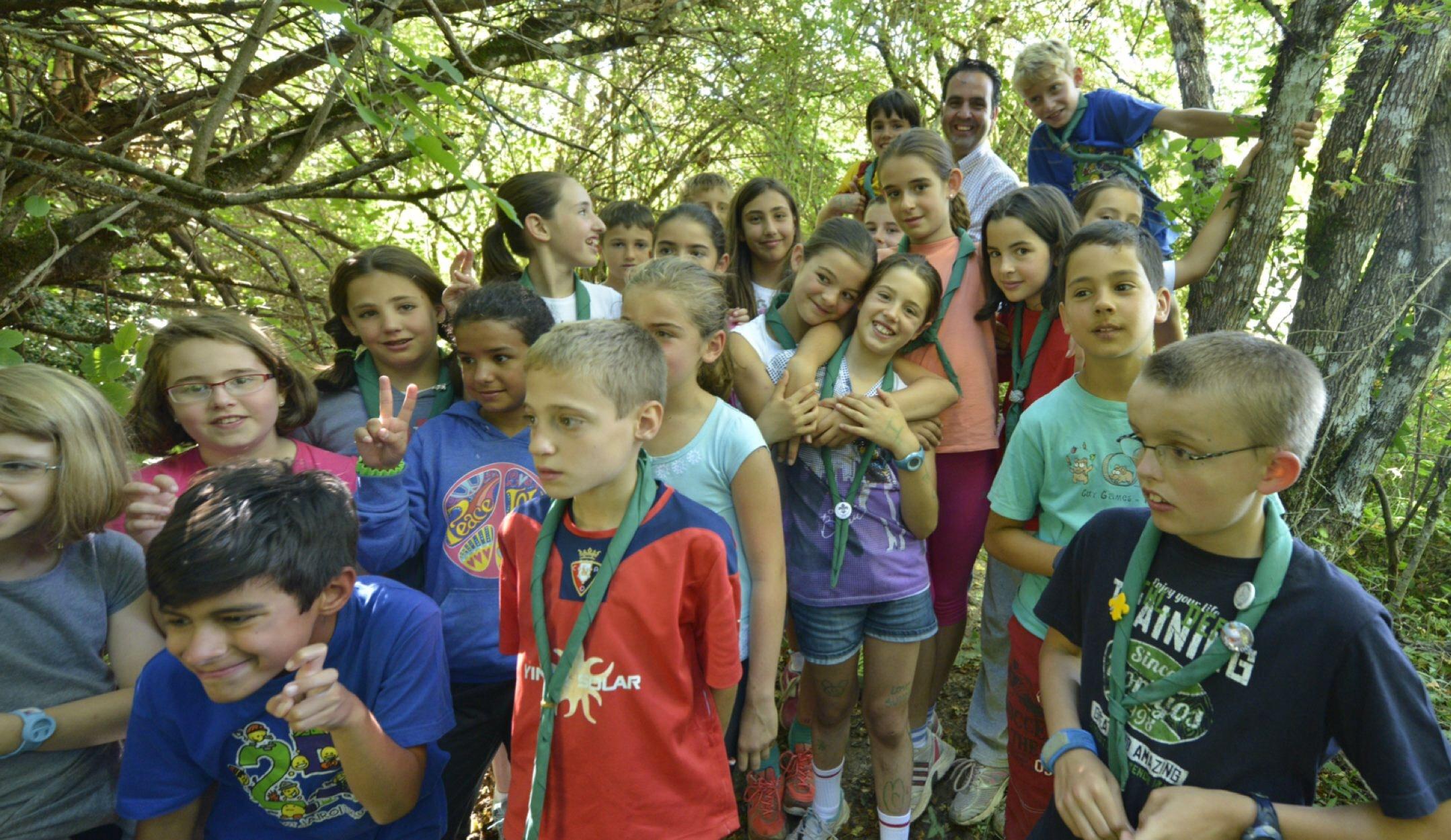 Acampadas juveniles: una escuela de naturaleza y esfuerzo cada vez ...