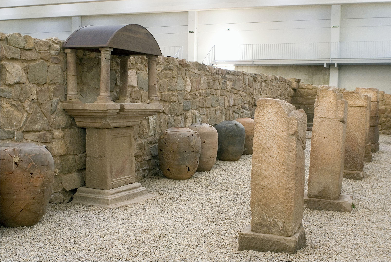 La villa romana de las musas en arellano formar parte de for Villas romanas