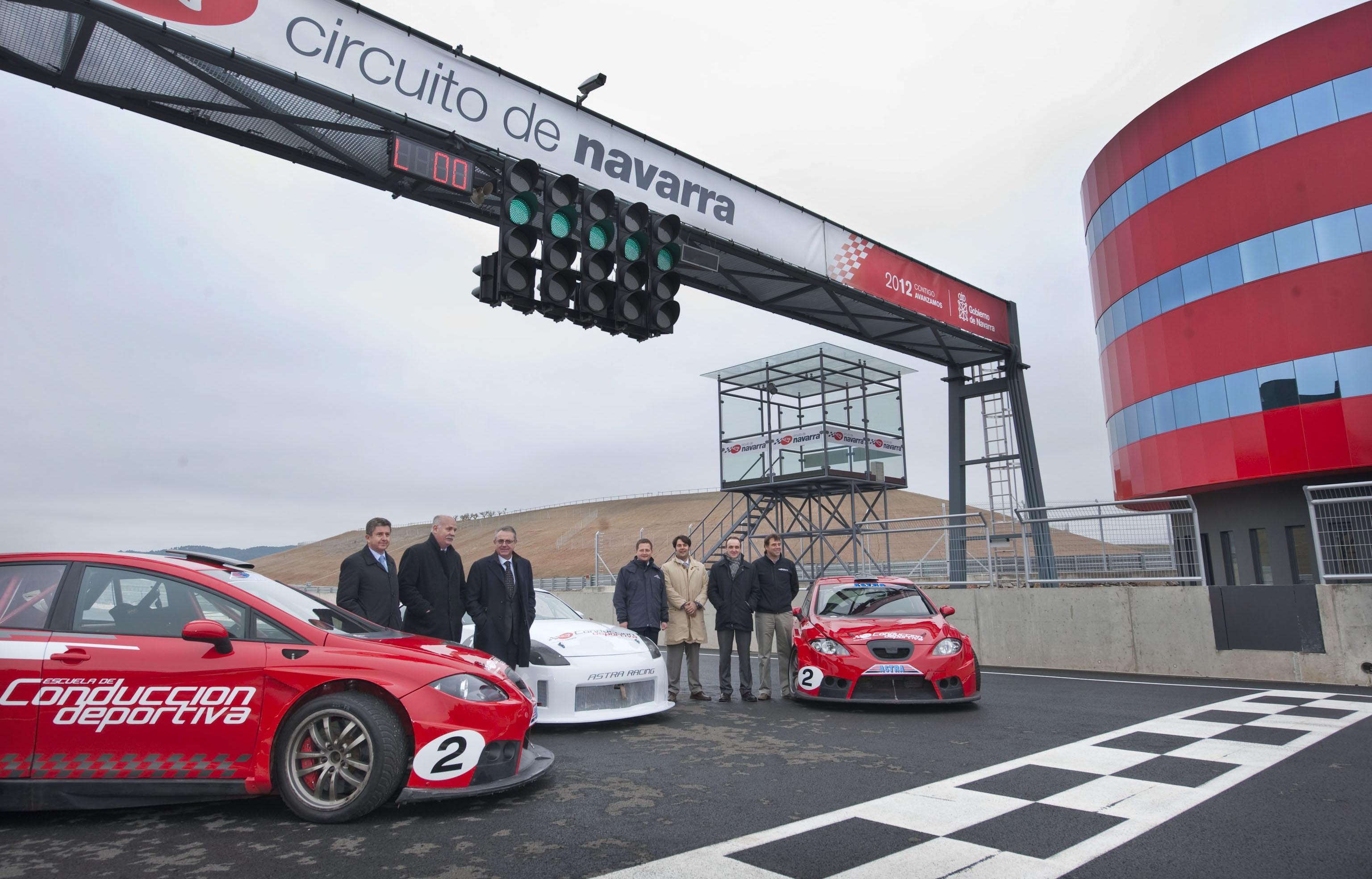 Circuito Los Arcos : Los arcos motorsport de capital mayoritariamente navarro será la