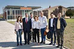 Visita delegación turca a Imárcoain