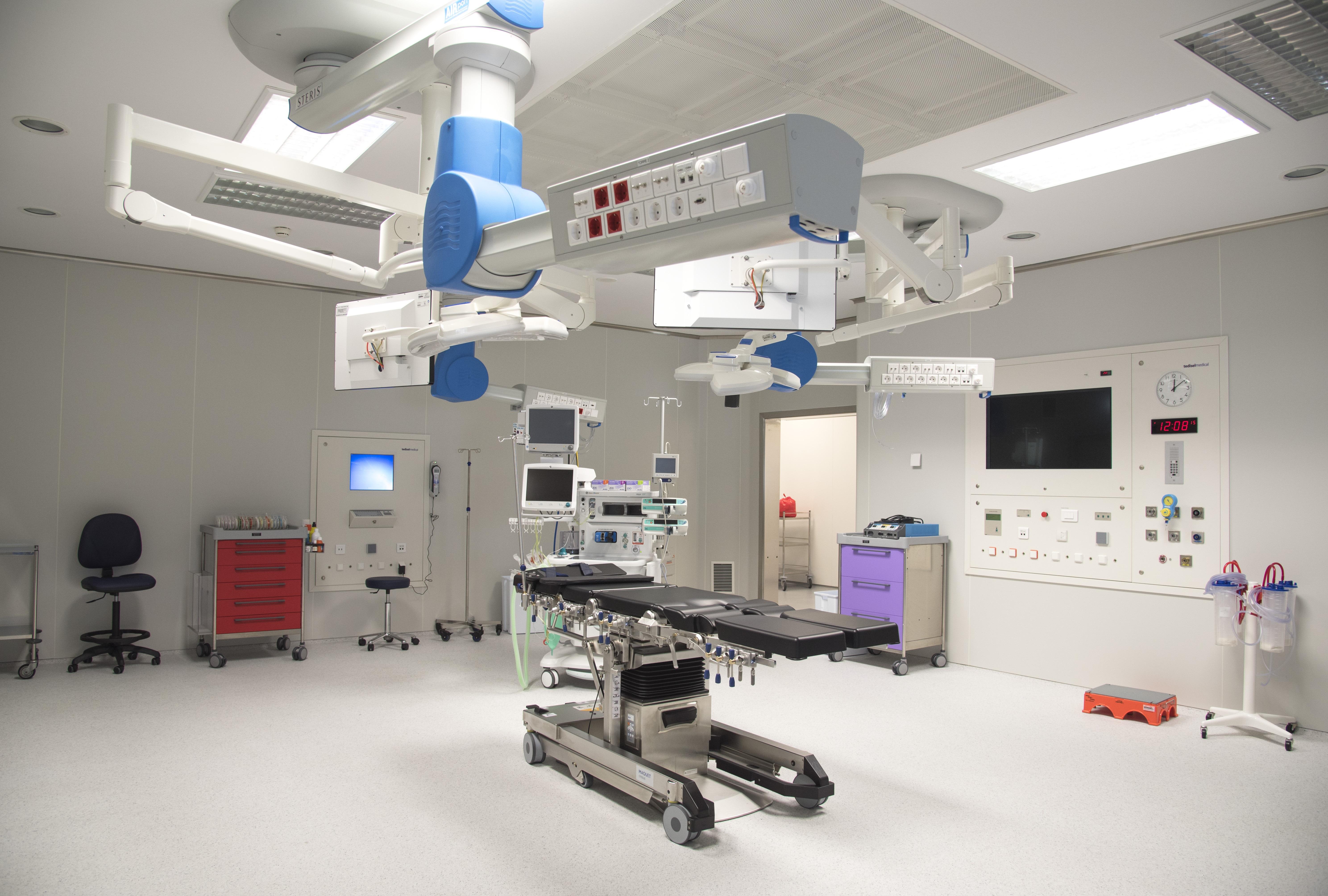 Circuito Quirurgico : El chn culmina la reorganización de su actividad quirúrgica con la