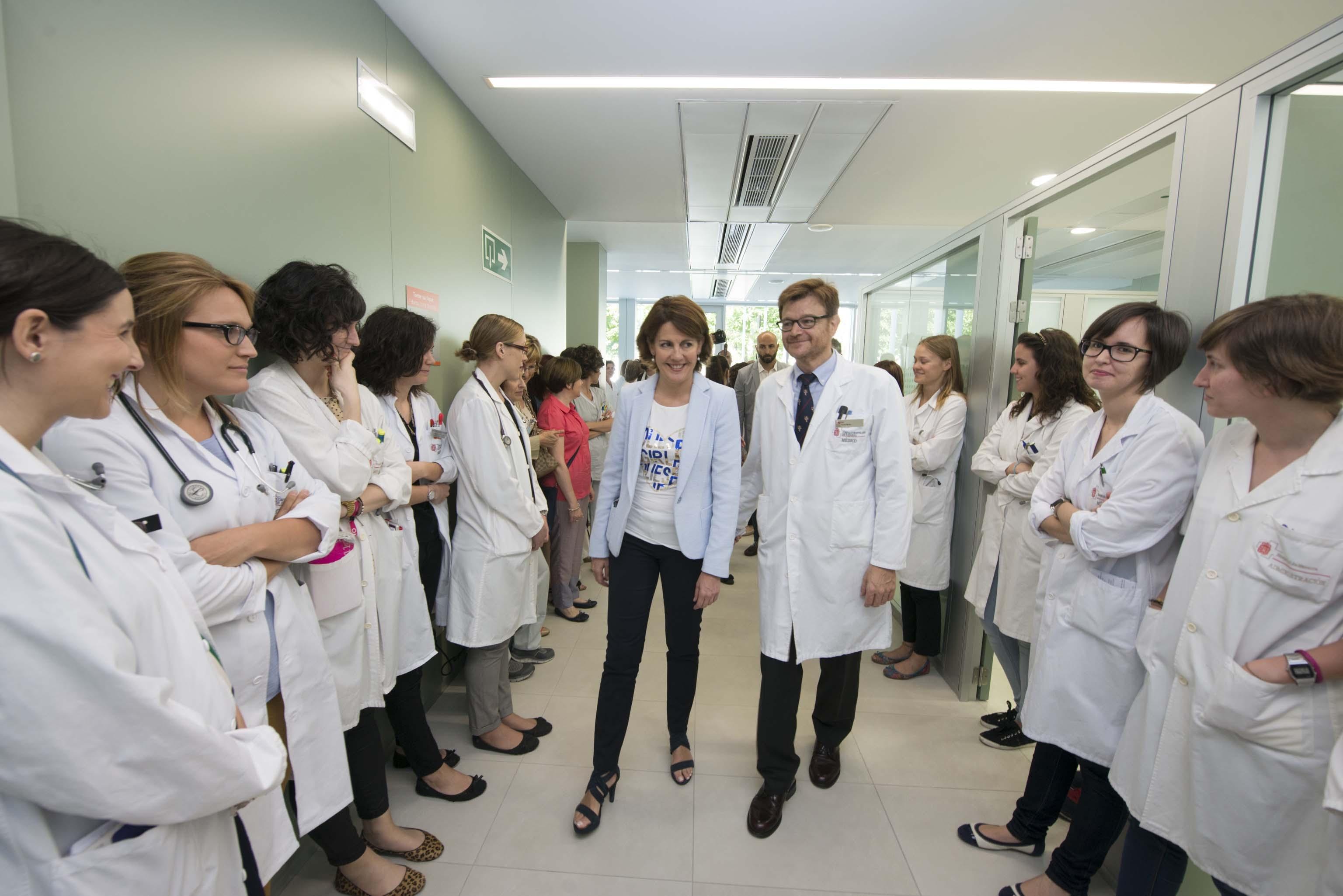 Las nuevas instalaciones del hospital de d a de oncolog a for Hospital de dia madrid