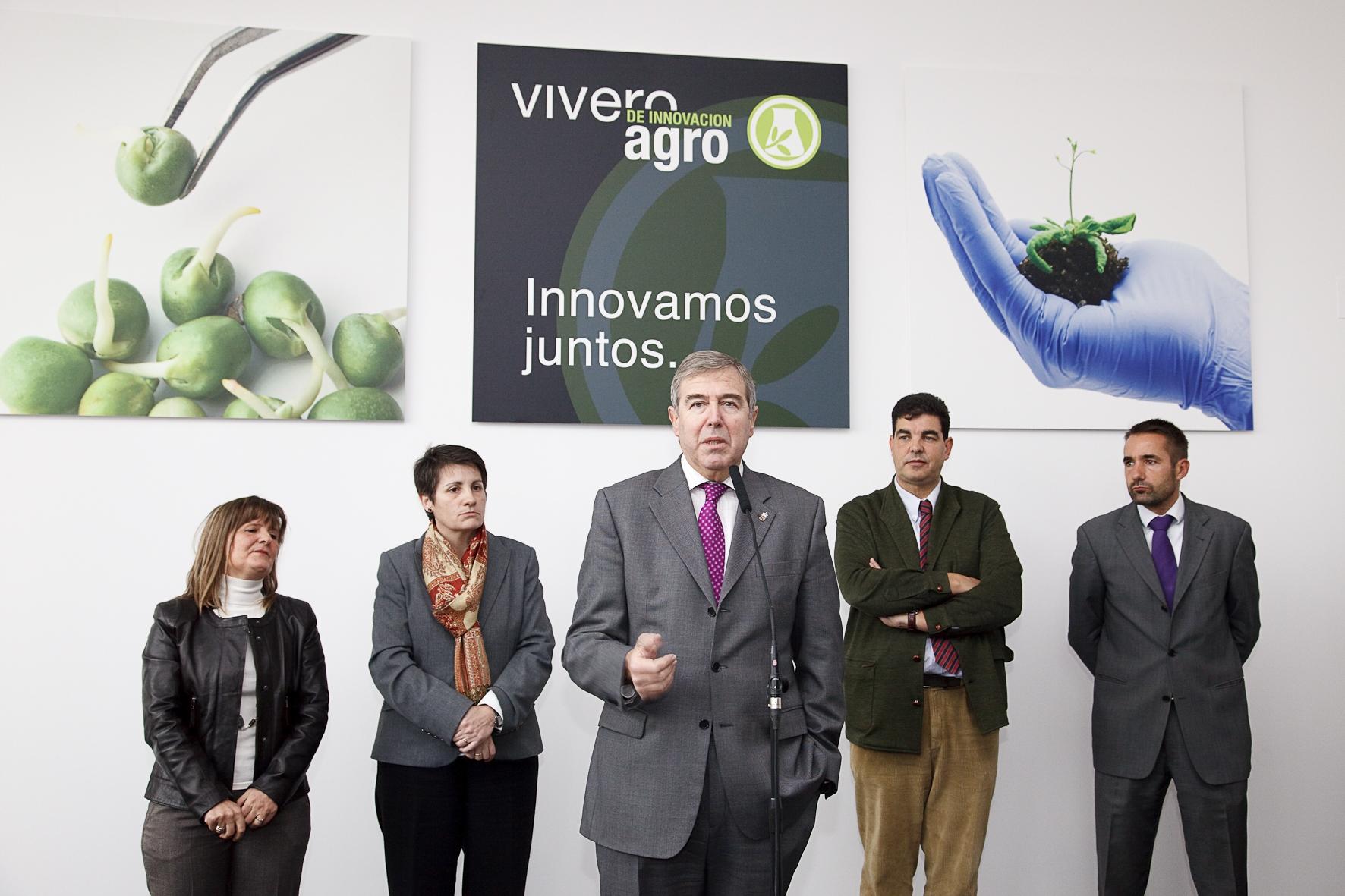 Inaugurado en tudela el vivero de innovaci n for Viveros en navarra