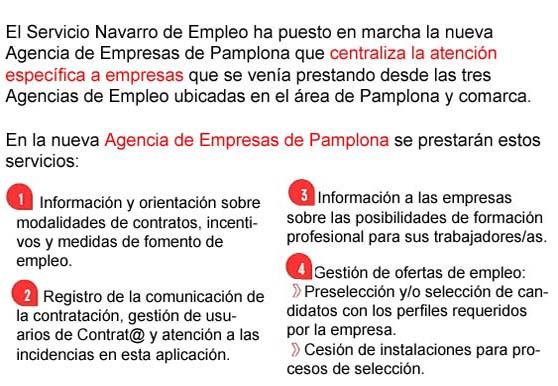Agencias de empleo pamplona agencia empresas - Oficina de empleo navarra ...