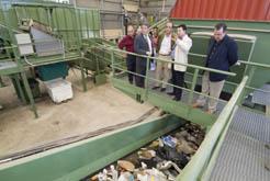 Instalaciones de la macro-planta de residuos de El Culebrete, Tudela