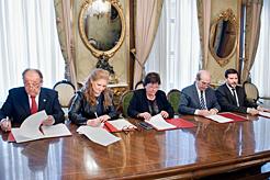 La mediación penal, civil y mercantil se extiende a toda Navarra al sumarse el Colegio de Abogados de Tafalla