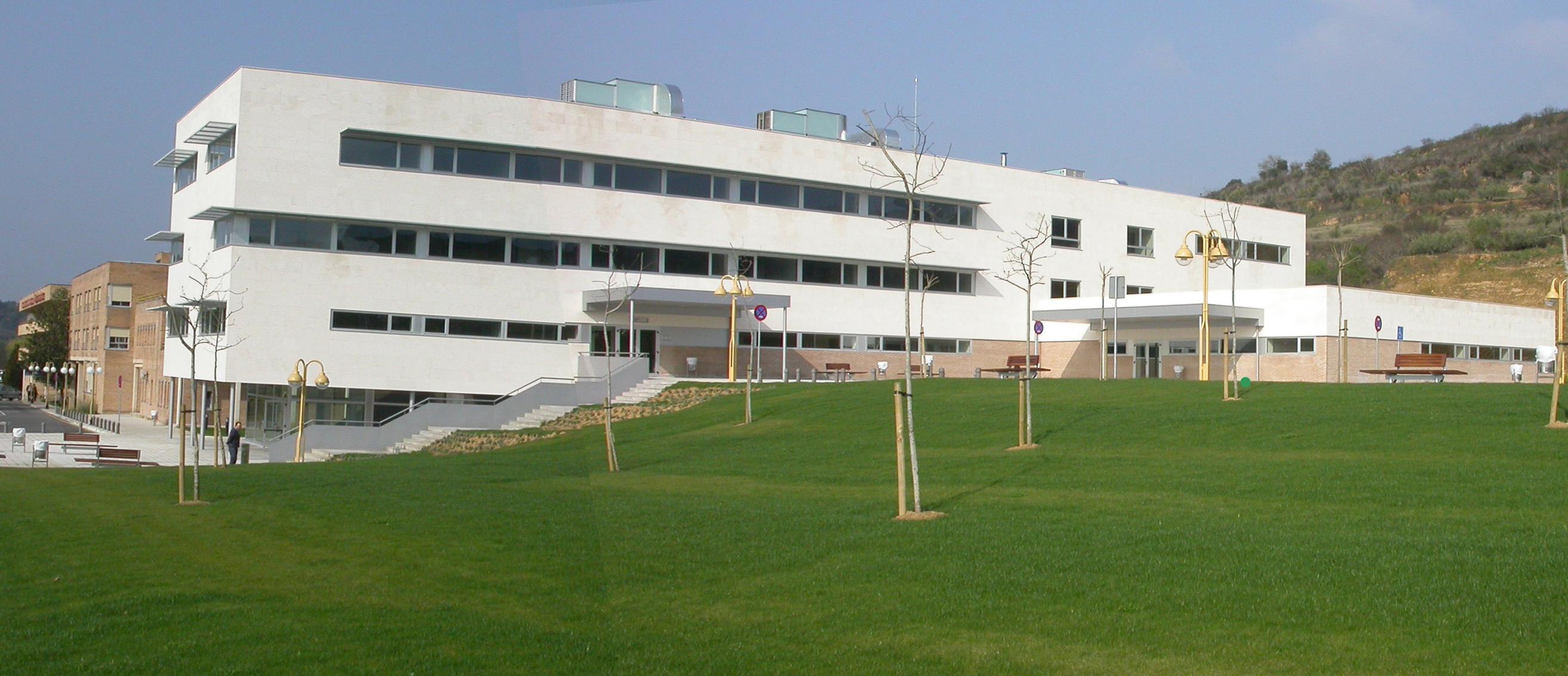 Vista general del hospital