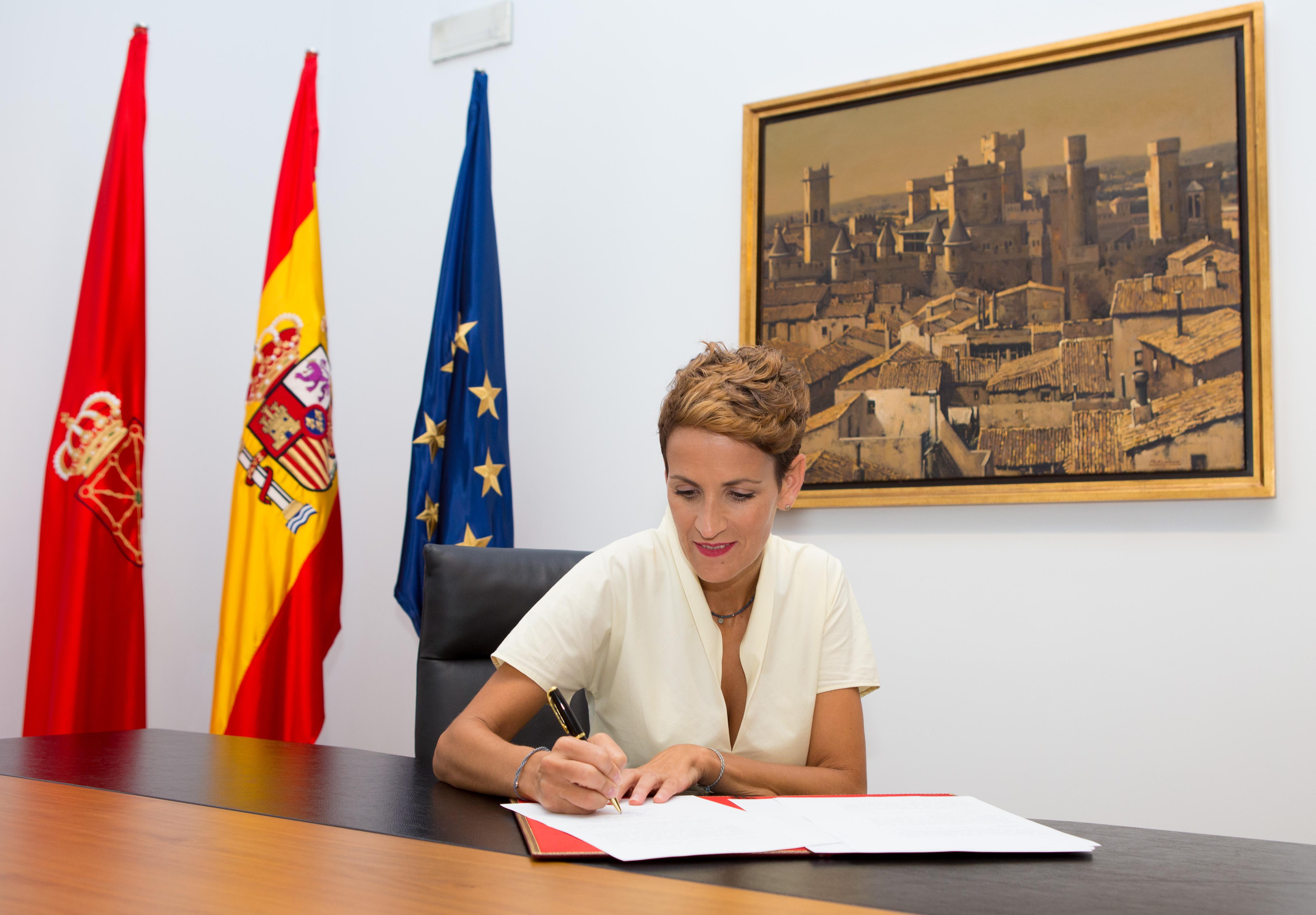 Fotografía de María Chivite