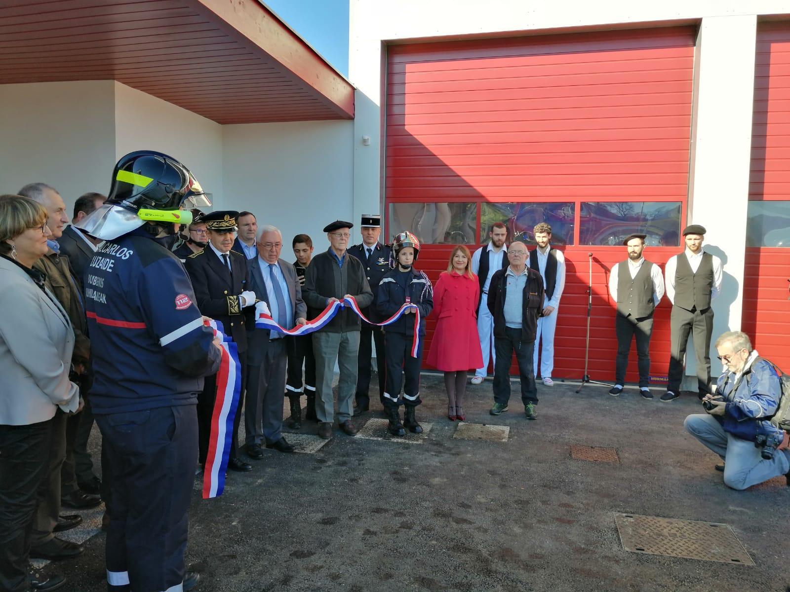 Navarra abre un centro de bomberos en San Juan de Pie de Puerto dentro del proyecto transfronterizo ALERT