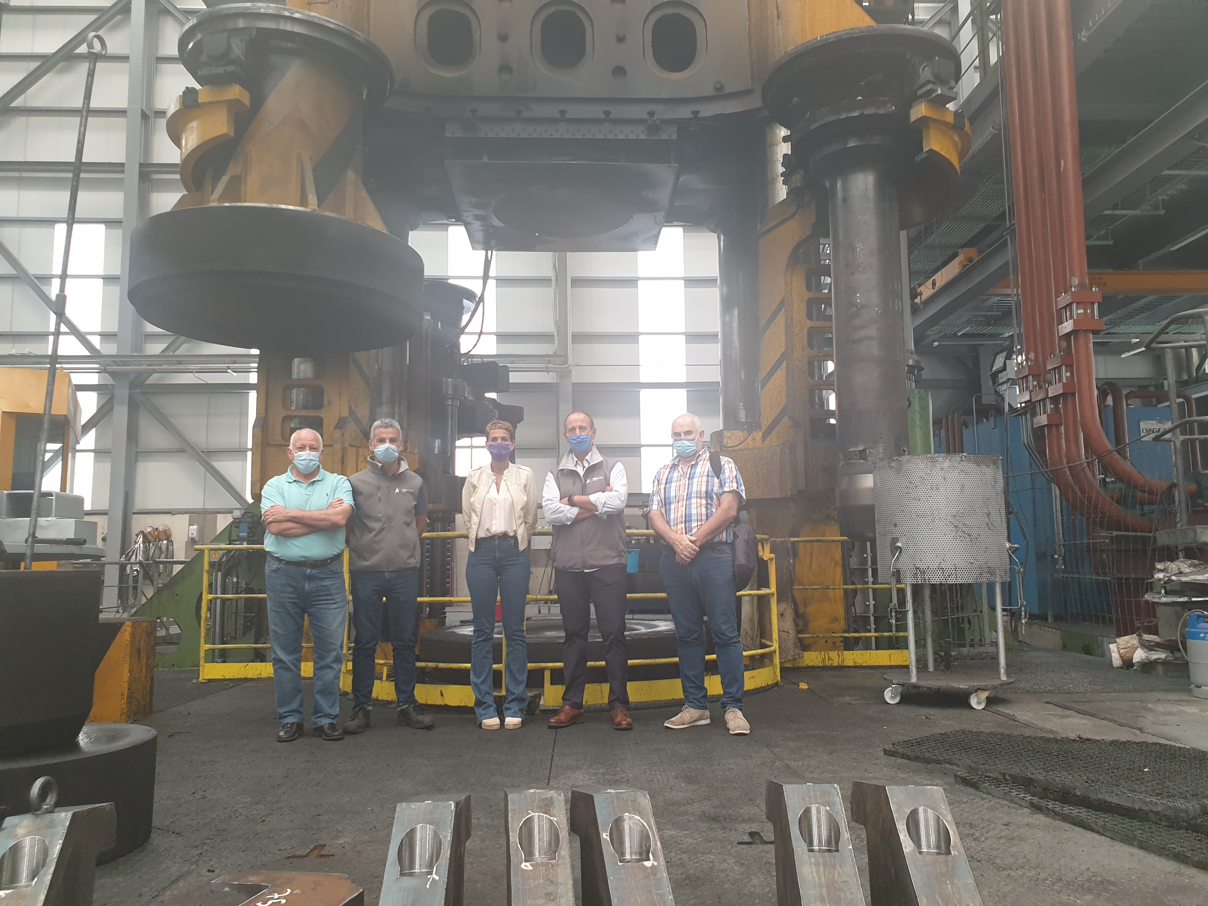 Lekort creará 23 nuevos puestos de trabajo en Lekunberri con producción de ejes de aerogeneradores