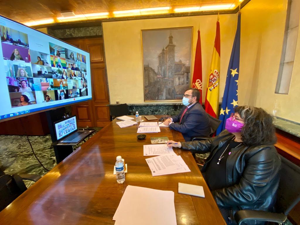 """Remírez pide """"trabajo conjunto y coordinado para los retos en materia de igualad"""" tras la pandemia"""
