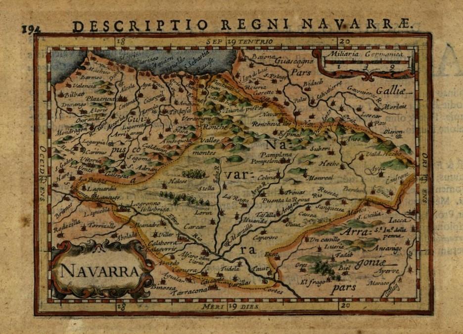 El Archivo de Navarra incrementa la colección de cartografía e iconografía histórica en internet