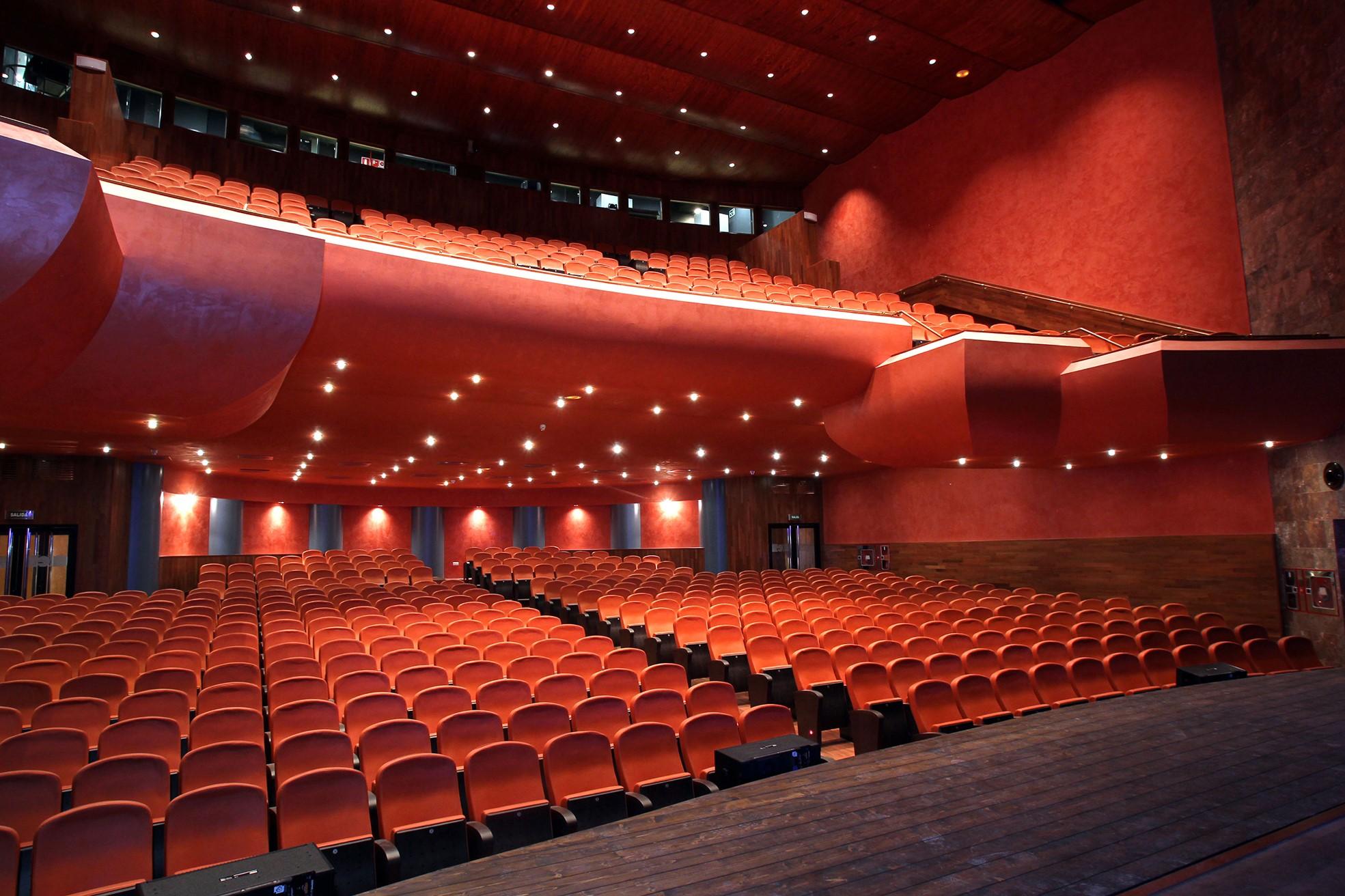 El teatro Gaztambide de Tudela, uno de los espacios escénicos de Navarra.